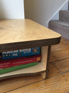 Bristol Map Coffee Table