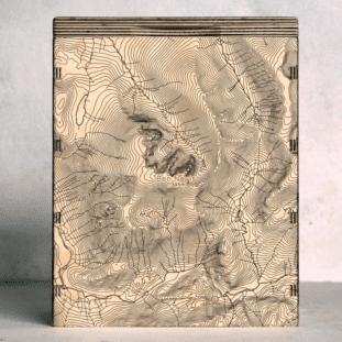 Ben Nevis Map Box