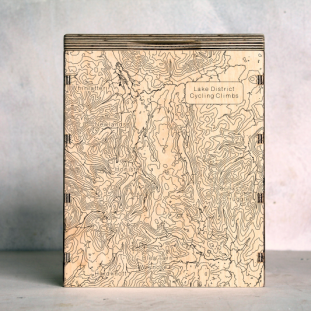 Lakes Cycling Map Box