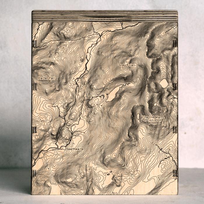 Duddon Valley Map Box