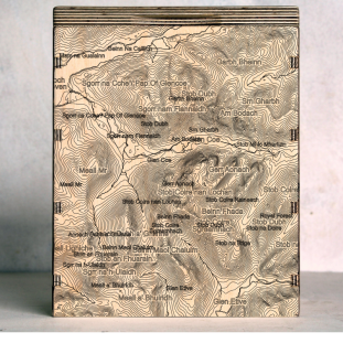 Glen Coe Map Box