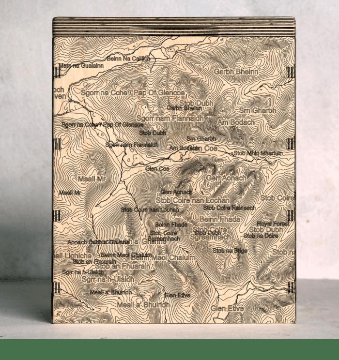 Glen Coe Map Box