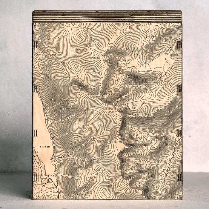 helvellyn map box