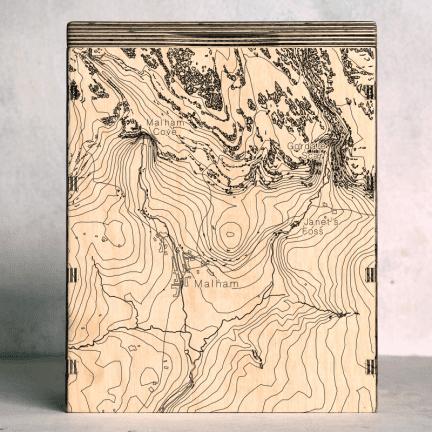 malham map box