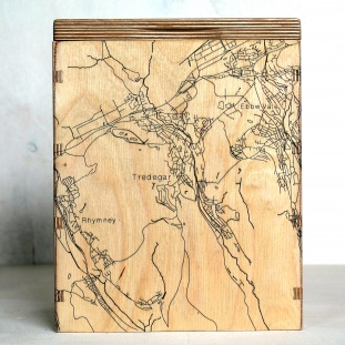 Tredegar Map Box