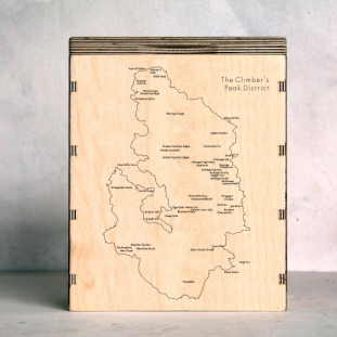 Climbers-Peak-District Map Box