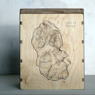 Isle of Arran Map Box