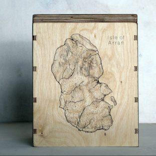 Isle of Arran Map Box