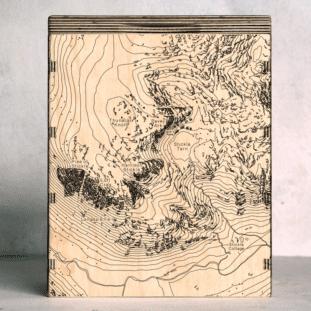 Langdale Pikes Map Box