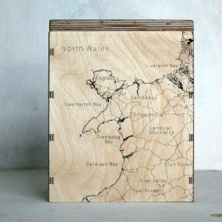 North Wales Map Box