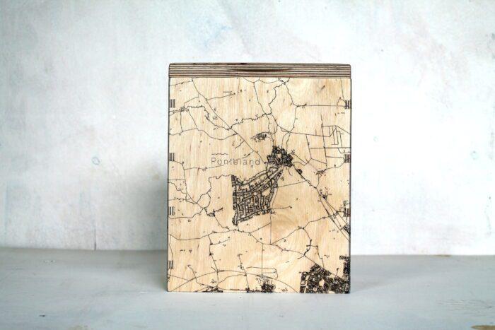 Ponteland Map Box