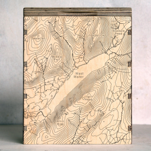 Wast Water Map Box