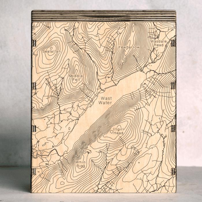 Wast Water Map Box