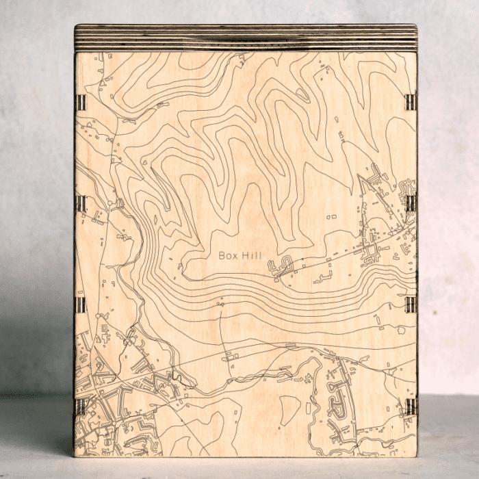 Box Hill - Surrey Map Box