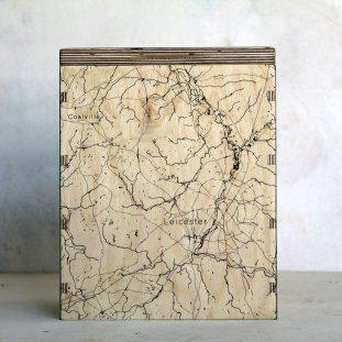 Leicester & Coalville Map Box
