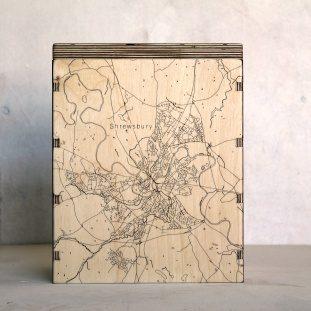Shrewsbury Map Box