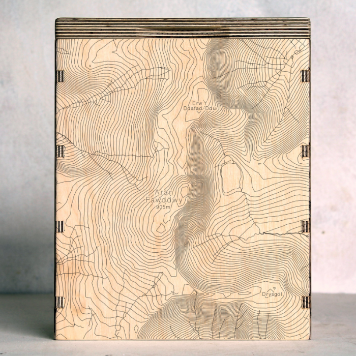 Arran Fawddwy Map Box