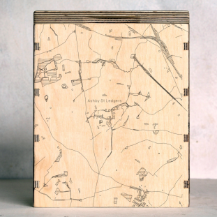 Ashby St Ledgers Map Box