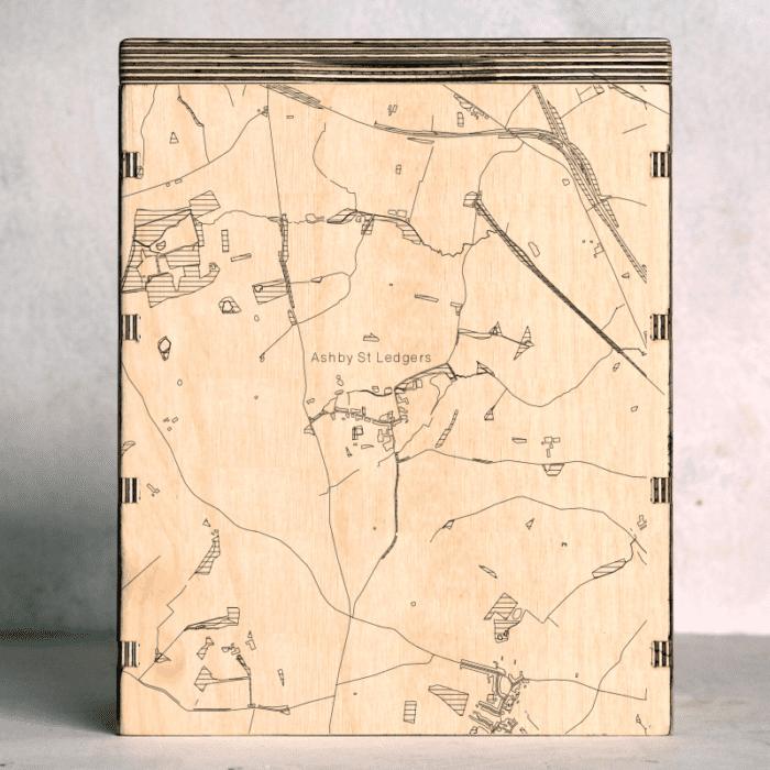 Ashby St Ledgers Map Box