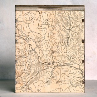 Brecon Beacons - Bwlch Map Box