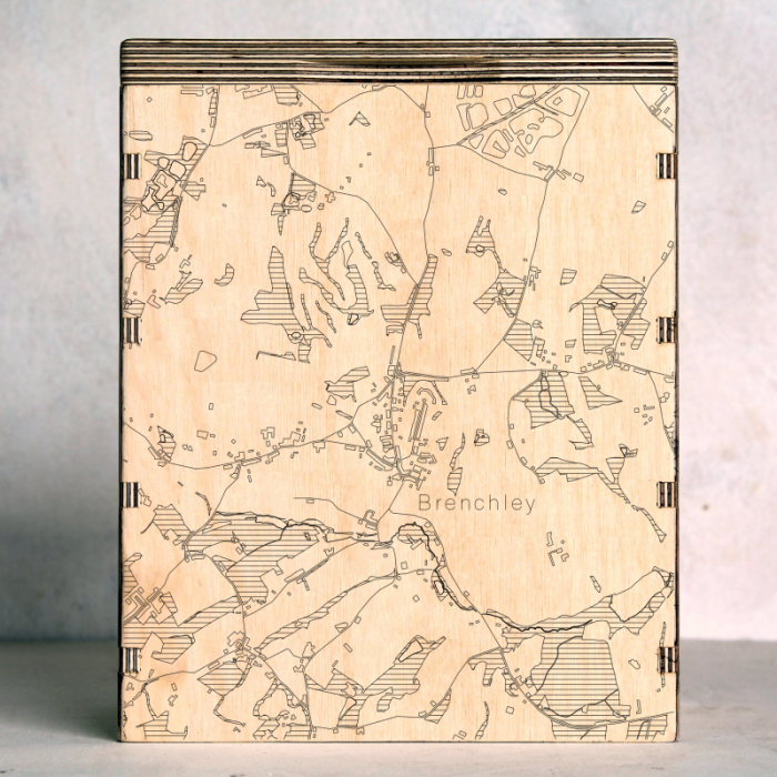 Brenchley Map Box