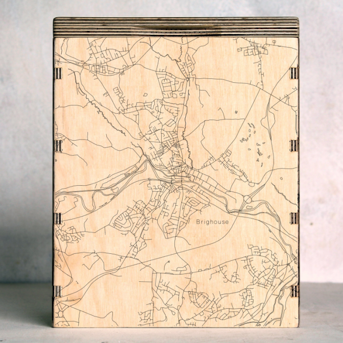 Brighouse Map Box