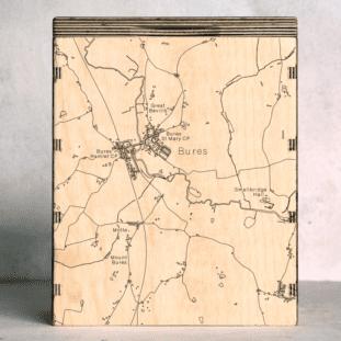 Bures Map Box