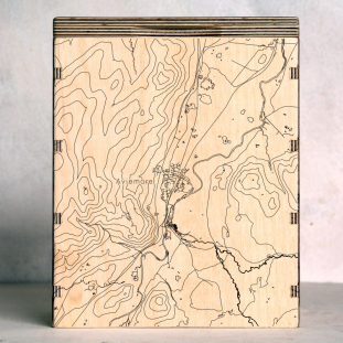 Cairngorms Aviemore Map Box