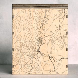 Cairngorms Aviemore Map Box