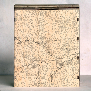 Cairngorms Ballater Map Box