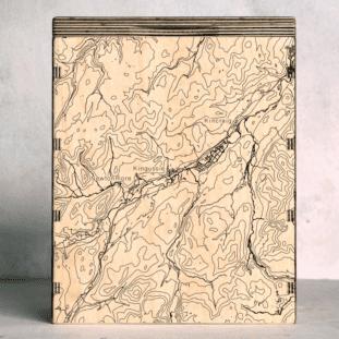 Cairngorms Kingussie Map Box