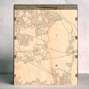 Cleadon - Tyne and Wear Map Box