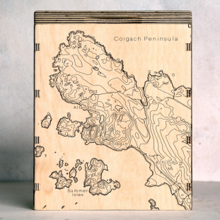 Coigach Peninsula Map Box
