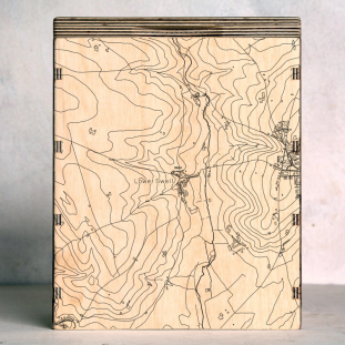 Cotswolds Lower Swell Map Box