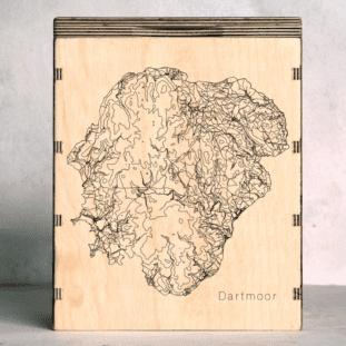 Dartmoor Map Box