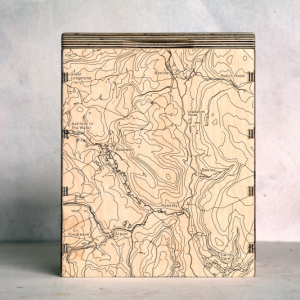 Bakewell Chatsworth Baslow Map Box