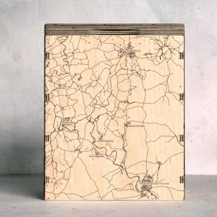Blandford-Forum-to-Shaftesbury Map Box