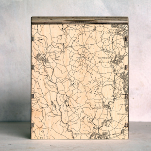 Dudley and Kidderminster Map Box