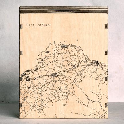 East Lothian Map Box