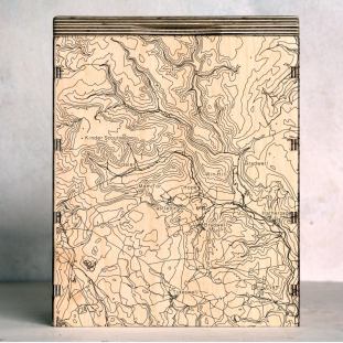 Edale-Kinder Scout -Hathersage Map Box