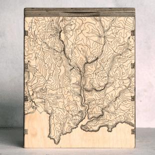 Fowey Estuary Map Box