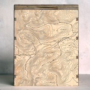 Glen Affric Map Box