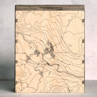 Grassington Map Box