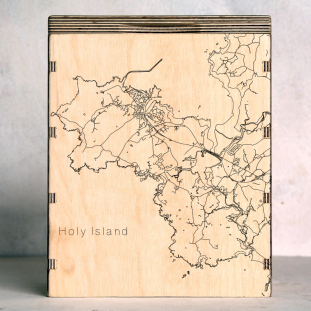 Holy Island Anglesey Map Box