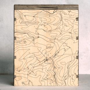 Huntsham Estate Devon Map Box