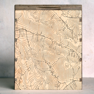 Lake District Pillar Map Box