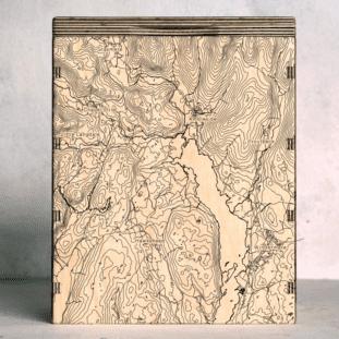 Lake District Windermere Map Box