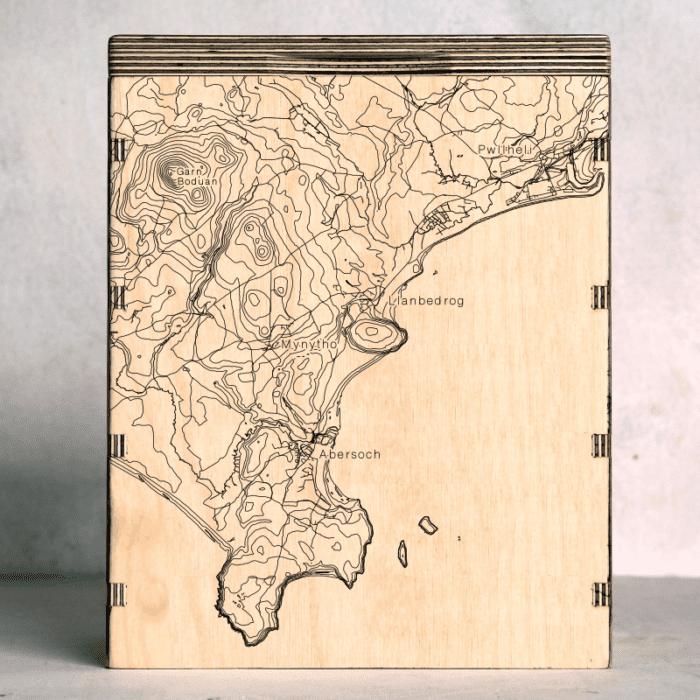 Llyn Peninsular-Abersoch-Llanbedrog Map Box