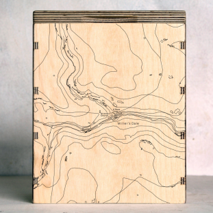 Millers Dale Map Box
