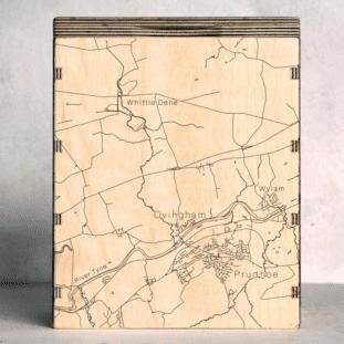 Ovingham Map Box